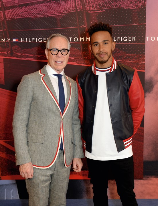 tommy hilfiger and lewis hamilton announcing global ambassador spring 20181-2 (Custom)