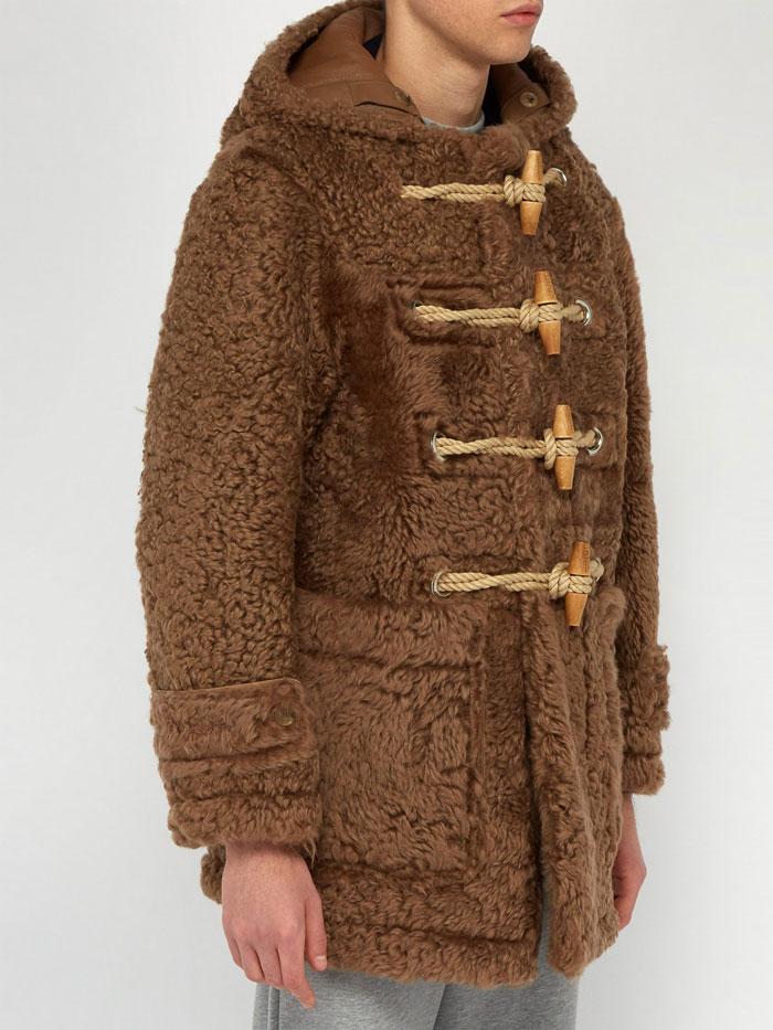Ανδρικό γούνινο μπουφάν Burberry (3)
