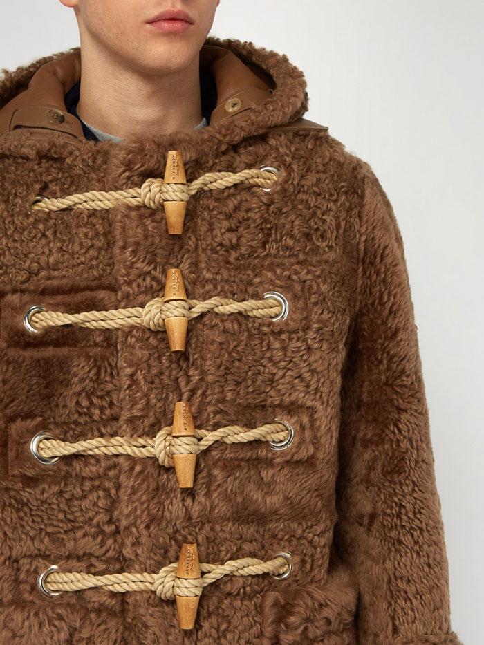 Ανδρικό γούνινο μπουφάν Burberry (4)