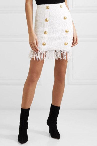 Μίνι γυναικεία φούστα Balmain (3)